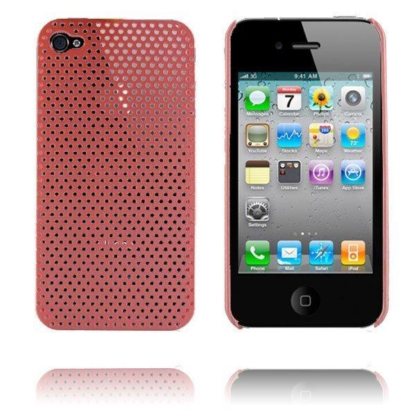 Atomic I4 Pinkki Iphone 4 Suojakuori