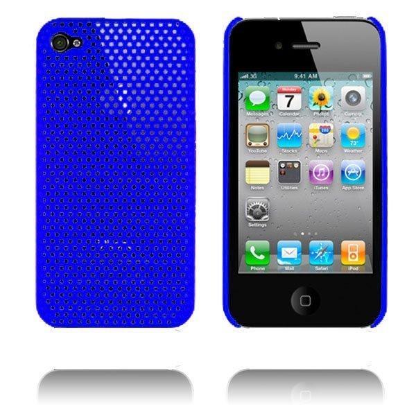Atomic I4 Sininen Iphone 4 Suojakuori