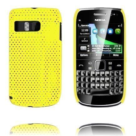 Atomic Keltainen Nokia E6 Suojakuori