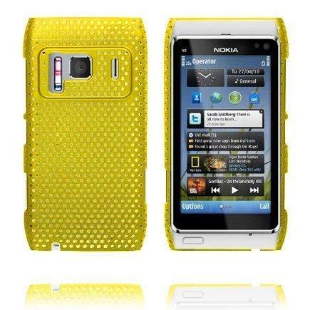 Atomic Keltainen Nokia N8 Suojakuori