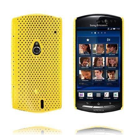 Atomic Keltainen Sony Ericsson Xperia Neo Suojakuori