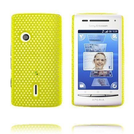 Atomic Keltainen Sony Ericsson Xperia X8 Suojakuori