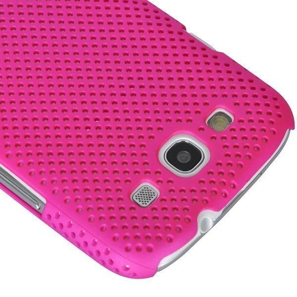 Atomic Kuuma Pinkki Samsung Galaxy S3 Suojakuori