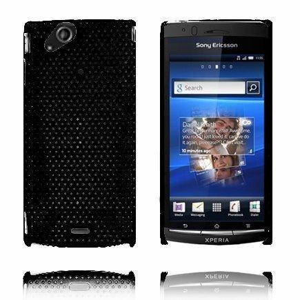Atomic Musta Sony Ericsson Xperia Arc Suojakuori