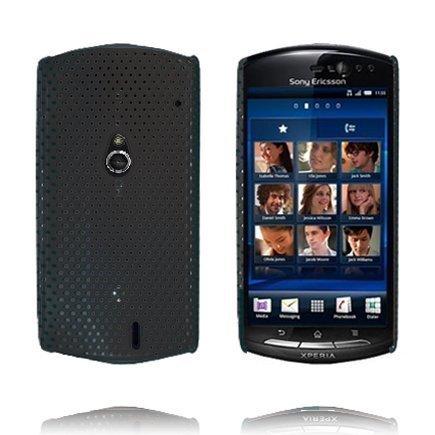 Atomic Musta Sony Ericsson Xperia Neo Suojakuori