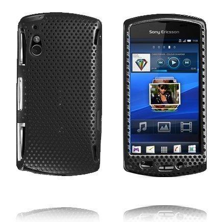 Atomic Musta Sony Ericsson Xperia Play Suojakuori
