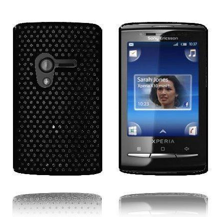 Atomic Musta Sony Ericsson Xperia X10 Mini Suojakuori
