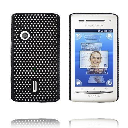Atomic Musta Sony Ericsson Xperia X8 Suojakuori