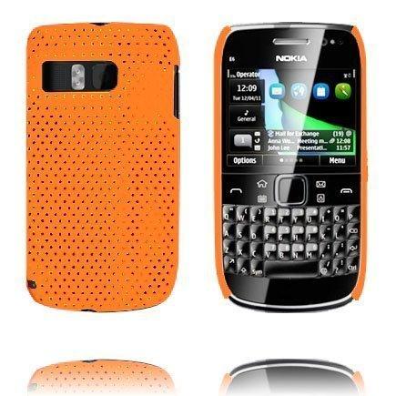 Atomic Oranssi Nokia E6 Suojakuori