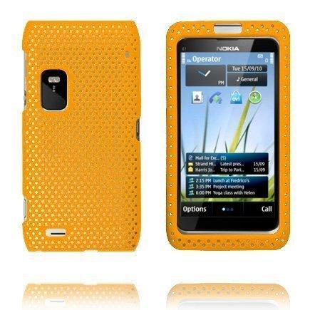 Atomic Oranssi Nokia E7 Suojakuori