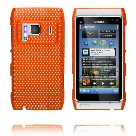 Atomic Oranssi Nokia N8 Suojakuori