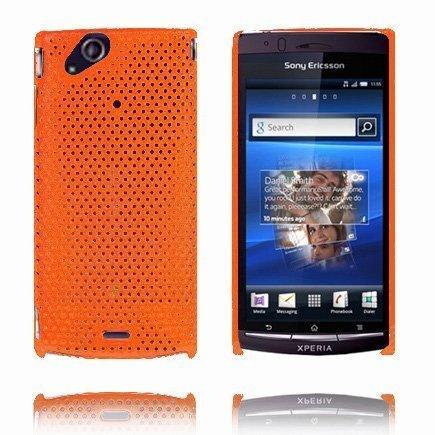 Atomic Oranssi Sony Ericsson Xperia Arc Suojakuori