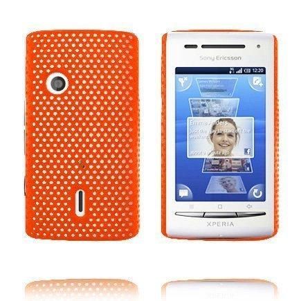 Atomic Oranssi Sony Ericsson Xperia X8 Suojakuori