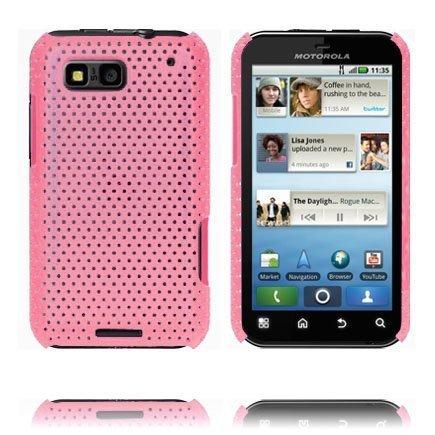Atomic Pinkki Motorola Defy Suojakuori