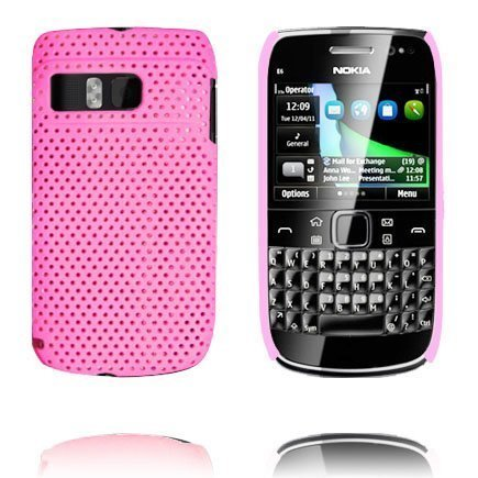Atomic Pinkki Nokia E6 Suojakuori