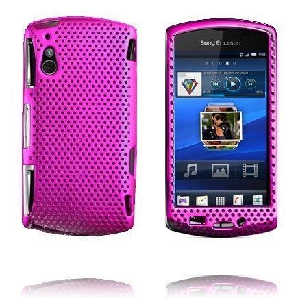 Atomic Pinkki Sony Ericsson Xperia Play Suojakuori