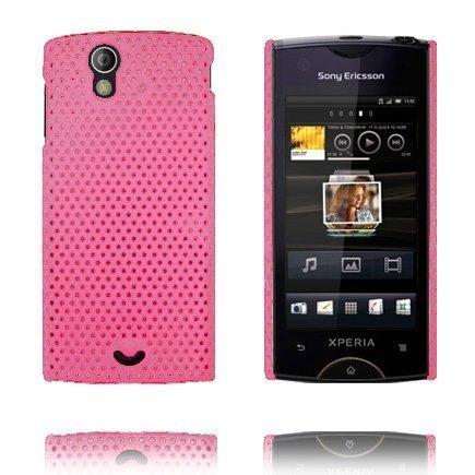 Atomic Pinkki Sony Ericsson Xperia Ray Suojakuori