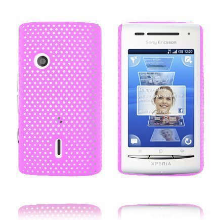 Atomic Pinkki Sony Ericsson Xperia X8 Suojakuori