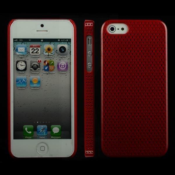 Atomic Punainen Iphone 5 Suojakuori