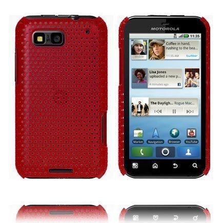 Atomic Punainen Motorola Defy Suojakuori