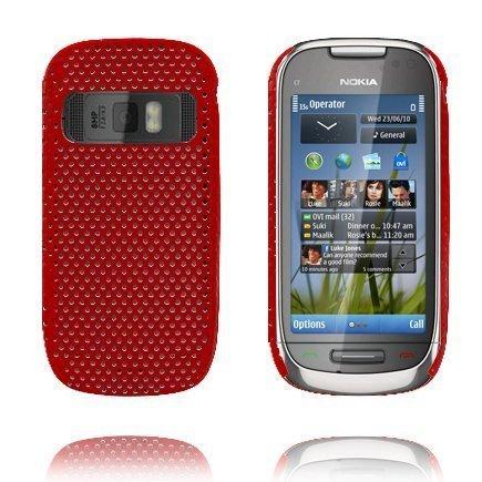 Atomic Punainen Nokia C7 Suojakuori