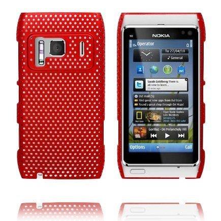 Atomic Punainen Nokia N8 Suojakuori