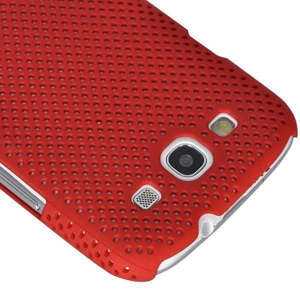 Atomic Punainen Samsung Galaxy S3 Suojakuori
