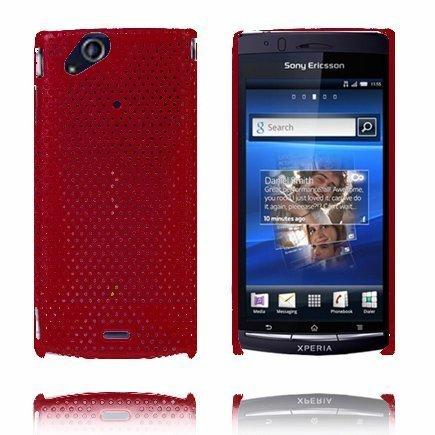 Atomic Punainen Sony Ericsson Xperia Arc Suojakuori