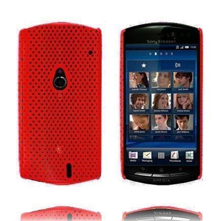Atomic Punainen Sony Ericsson Xperia Neo Suojakuori