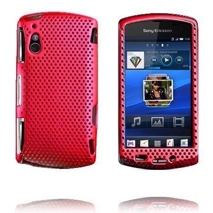Atomic Punainen Sony Ericsson Xperia Play Suojakuori