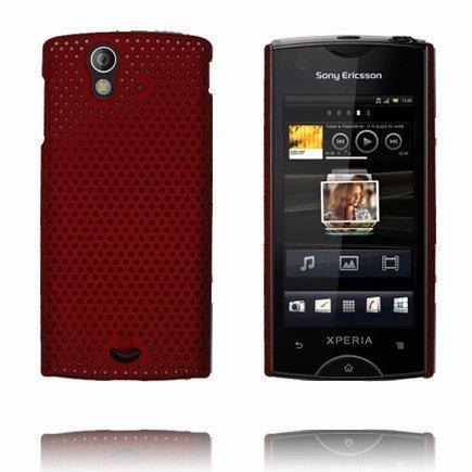 Atomic Punainen Sony Ericsson Xperia Ray Suojakuori
