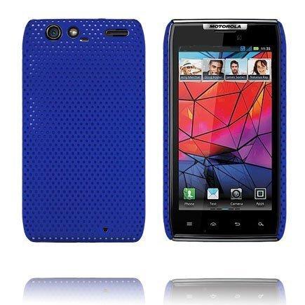 Atomic Sininen Motorola Razr Suojakuori