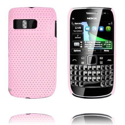 Atomic Vaaleanpunainen Nokia E6 Suojakuori