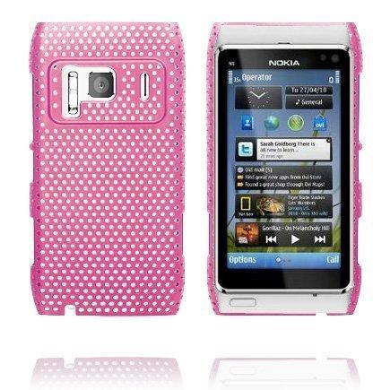 Atomic Vaaleanpunainen Nokia N8 Suojakuori