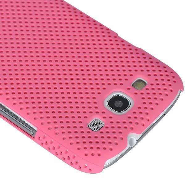 Atomic Vaaleanpunainen Samsung Galaxy S3 Suojakuori