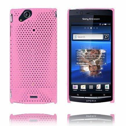 Atomic Vaaleanpunainen Sony Ericsson Xperia Arc Suojakuori