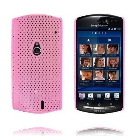 Atomic Vaaleanpunainen Sony Ericsson Xperia Neo Suojakuori