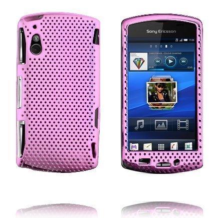 Atomic Vaaleanpunainen Sony Ericsson Xperia Play Suojakuori