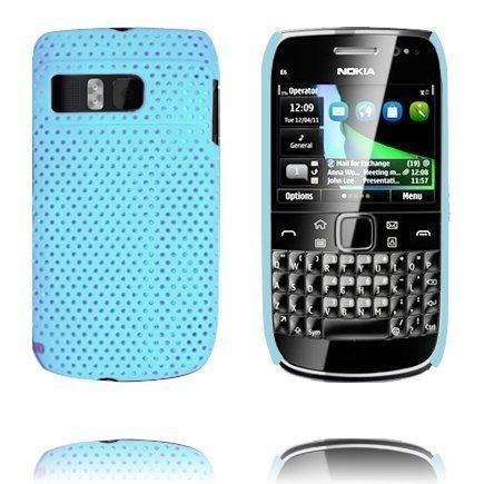 Atomic Vaaleansininen Nokia E6 Suojakuori