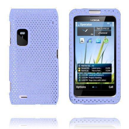 Atomic Vaaleansininen Nokia E7 Suojakuori