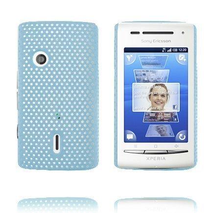Atomic Vaaleansininen Sony Ericsson Xperia X8 Suojakuori