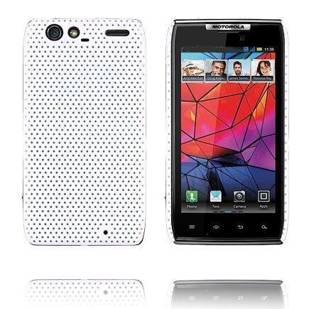 Atomic Valkoinen Motorola Razr Suojakuori