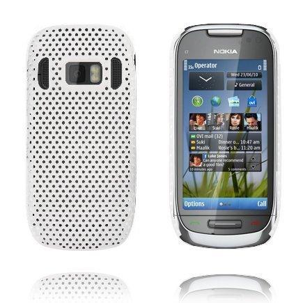 Atomic Valkoinen Nokia C7 Suojakuori
