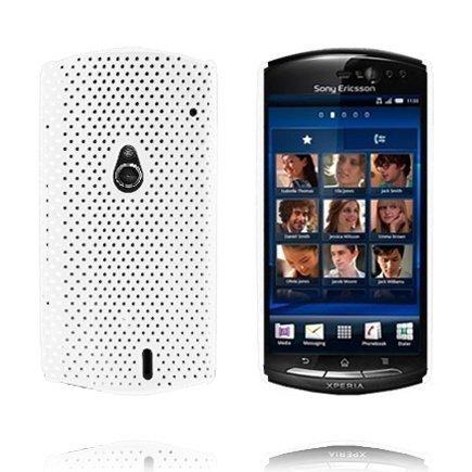 Atomic Valkoinen Sony Ericsson Xperia Neo Suojakuori