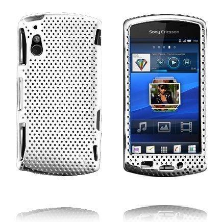 Atomic Valkoinen Sony Ericsson Xperia Play Suojakuori