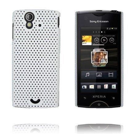 Atomic Valkoinen Sony Ericsson Xperia Ray Suojakuori