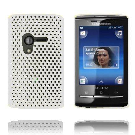 Atomic Valkoinen Sony Ericsson Xperia X10 Mini Suojakuori