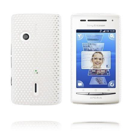 Atomic Valkoinen Sony Ericsson Xperia X8 Suojakuori