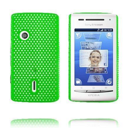 Atomic Vihreä Sony Ericsson Xperia X8 Suojakuori