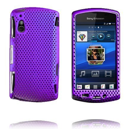 Atomic Violetti Sony Ericsson Xperia Play Suojakuori